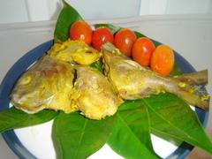 Ikan bakar bungkus daun
