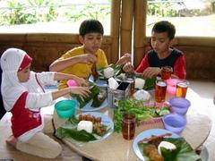Makan di RM Nangka Subang