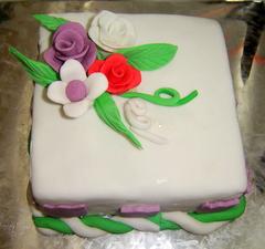 Cake sudah jadi