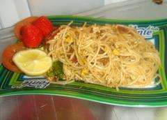 spaghetti saus sardines