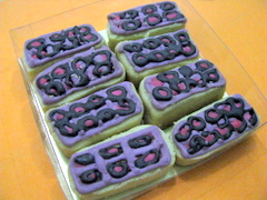 Kue kering wafer fantasi