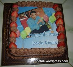 Ultah David Khalik