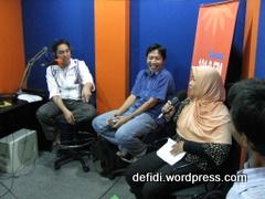 Talk Show di Radio Bahana 101.8