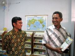 Wakil Walikota Bogor dan Kepala Sekolah