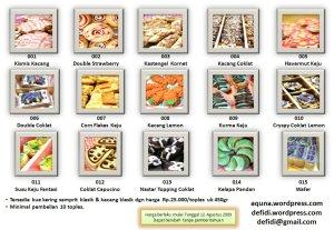 Kue Kering 2009 (klik pada gambar untuk memperbesar)