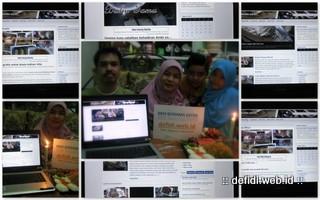 "Syukuran blog ""BBM bersama Defidi"""